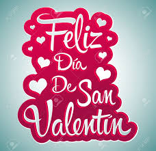 San Valentin Decoration Feliz Dia De San Valentin Happy Valentines Day Spanish Text