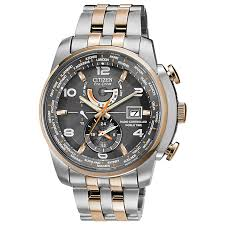 citizen eco drive men s chronograph two tone bracelet watch h samuel citizen eco drive men s chronograph two tone bracelet watch product number 1371517