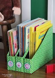 top diy book storage using cereal bo