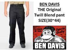 Ben Davis Size Chart Ben Davis Products For Sale Ebay