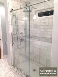 subway tile carrara marble bathroom images