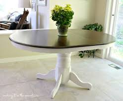 painted round kitchen table trends with pictures