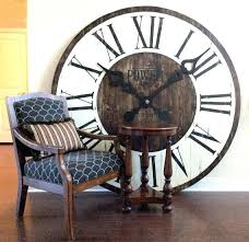 extra large wall clock uk rustic wall clock best oversized wall clocks ideas on rustic wall