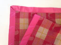 DIY: How to Sew With Satin Blanket Binding - Creativebug Blog & How to Sew On Satin Edging at Creativebug Adamdwight.com