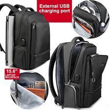 Waterproof Nylon <b>Anti theft Men</b> 15.6 Laptop <b>Backpack</b> USB ...