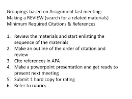 Lesson 9 Citing References Ppt Download