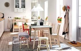 Traditional scandinavian furniture White Pine Light Dining Room With White Stained Table And Chairs Space For People Traditional Scandinavian Painted Recognizealeadercom Decoration Traditional Scandinavian Furniture