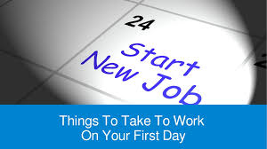 things to take to work on your first day findmydreamjob co uk things to take to work on your first day findmydreamjob co uk