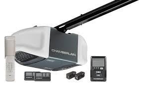 Chamberlain MyQ Belt Drive Garage Door Opener w/ Battery Backup ...