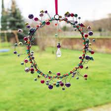 Fensterdeko Perlenkranz 12cm Fensterschmuck Bunt Kaufen