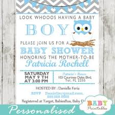 Baby Shower DIY  Page 373 Of 376  Baby Shower Decor Baby Shower Owl Baby Shower Invitations For Boy