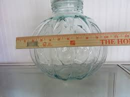 Large Decorative Glass Jars With Lids Lot Detail BEAUTIFUL EXTRA LARGE DECORATIVE GLASS JAR WITH LID 78