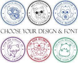 Stamp Design Amazon Com Pick From 100 Cute Animal Designs Teacher