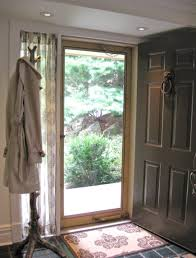 Front Door Window Treatments As Well Victorian With Panels Plus ...