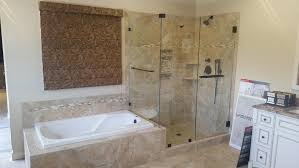 Contemporary Bathroom Remodeling Cary Nc View Image A Throughout Design Ideas