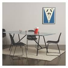 Zinc Dining Table French Yeoman 8 Seat Zinc Dining Table Buy Now At Habitat Uk