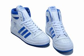 adidas shoes blue and white. adidas 365-day return us oiled suede decade top winter shoes blue white and p