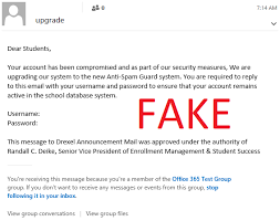 Stay Alert More Phishing Emails Information Technology