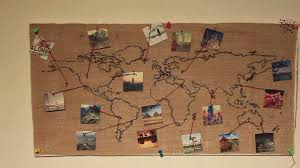 burlap world wall decoration diy collection including outstanding map ideas hd hanging decal decor