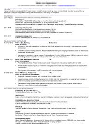 Here is a CV that is painful to look out because the layout is terrible