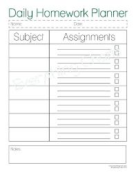 College Student Planner Template – Tangledbeard