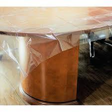 clear tablecloth