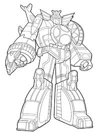 Mighty Morphin Power Rangers Coloring Pages Interesting Pag And Also