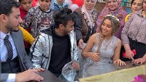 لحظة كتب كتاب عبد الرحمن مبروك و هبه شوفوا حصل اي ؟! - YouTube