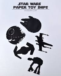 make your very own star wars light switch using vinyl or stencil and paint