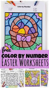 Winter number count worksheet hello, everyone, you can find free number count worksheets below this text. Free Easter Color By Number Worksheets