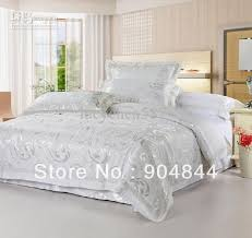 noble silk cotton bedding set white and silver bedding set cute dunelm bedding sets
