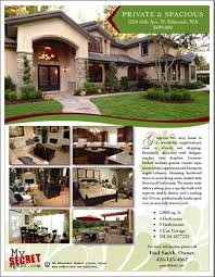 images about real estate brochure ideas on  real  for by owner flyer for mom and dad daily