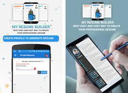 Resume Builder App Cool Pocket Resume Builder App Professional CV Maker Apk Download latest
