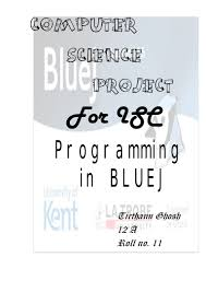 computerscience project 81818088 isc class xii computer science project java programs