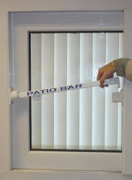 out of sight patio door bar lock doors sliding security for locks glass