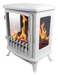 cheminée decorative design fire glass