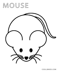 Small Picture Mouse Coloring Page Mouse Coloring Pages Printable nebulosabarcom