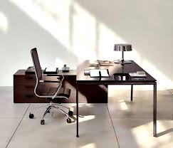 office design for small space. Office:Slim Wooden Working Desk For Modern Home Office Design Decorating A Perfect Small Space