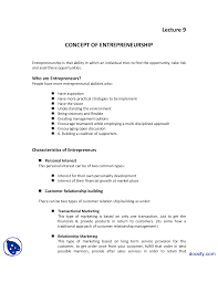Introduction To Entrepreneurship Concepts Of Entrepreneurship Introduction To Business