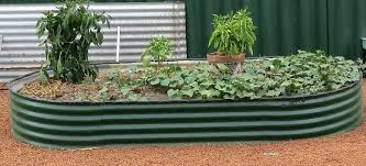 frugal gardening corrugated raised bed garden beds nz bunnings great ideas for making felt raised garden beds
