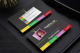 business card template designs free graphic artist business card template design