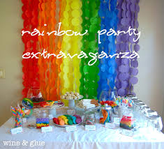 Small Picture Interior Design Top Rainbow Themed Birthday Party Decorations