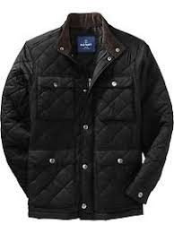 Old Navy Quilted Cord-Trim Barn Jackets (ala Barbour) | My ... & Men's Quilted Cord-Trim Barn Jackets Adamdwight.com