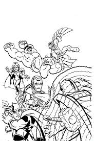 Small Picture Marvel Super Hero Squad Attacking Magneto Coloring Page NetArt