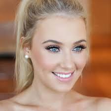 wedding makeup natural for blue eyes