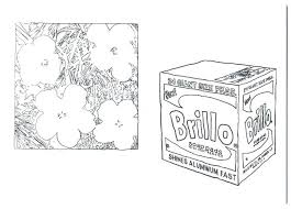 Andy Warhol Coloring Pages Combined With Coloring Pages A Coloring