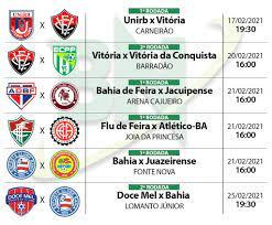 Bahia Notícias / Esportes / Notícia / Guia do Campeonato Baiano 2021:  Conheça destaques e expectativas dos 10 participantes - 16/02/2021