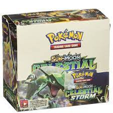 Pokemon TCG: Sun & Moon-Celestial Storm Booster Display Box (36 Booster  Packs) - Anime Figure - Cosplay Clothes - Harware - Fashion and more