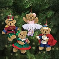The Nutcracker 2016 Teddy Bear Ornaments