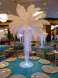 centerpieces with feathers for wedding tables 137 best elegant centerpieces images on table centers rose